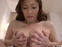 Large milk cans asian'_s lusty insertion