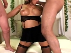 Gagging Deepthroating 2 Hard Cocks