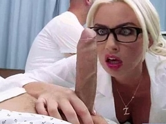 Superb Powered Patient (gigi allens) Get Sex Treat From Doctor video-13