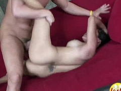 Asian big tit pussy Very eager to suck big white cock to hike dripping wet slit