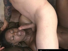 Simone Styles Longstrokes With Her Throat
