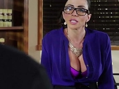 Slutty big tit office worker loves to be dominated encouragement under way 22
