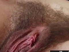 Amazing Girl with Natural Hairy Vagina 18