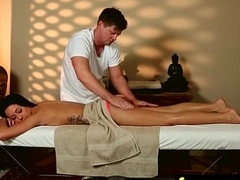 Massage Girl Sucks the Tip for a Tip 21