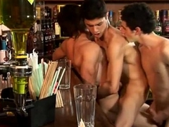 Teen Boys Hookup Threesome Sex On tap A Bar