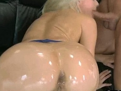 Hard Anal Bang On Cam With Big Curvy Butt Hawt Girl (anikka albrite) clip-05