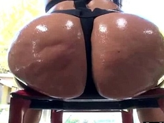 Anal Sex Tape With Big Wet Oiled Butt Horny Girl (alena croft) clip-05