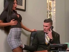 Lasting Sex On Cam In Office With Big Juggs Gorgeous Girl (elicia solis) clip-15