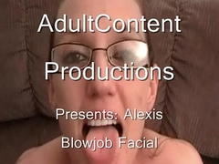 Nerdy Alexis Gets A Facial