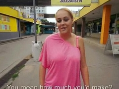 Real Sluts With respect to Hardcore Public Coitus For Money Porn Video 32