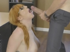 Silly student Lauren Phillips got her ass fucked up