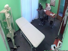 Spanish Patient Gets Creampied - Jimena Jago