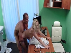 Cute Patient Fucked Hard Unconnected with Doctor - Victoria Pure