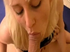 DP with Slurps Blonde German Teen