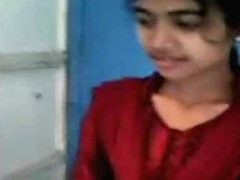 Shy Bangla Girl Show Muff &amp_ Pair to Boyfriend @ Leopard69Puma