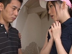 Golfing virging getting fro bang a hot Asian slut